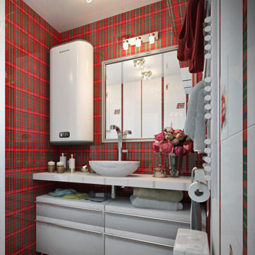 Отделка и ремонт ванных комнат, туалетов, санузлов - галерея фото проектов.