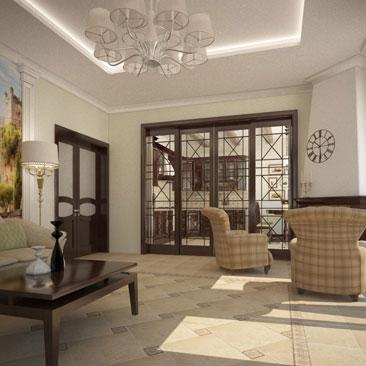 Дизайн-студия интерьеров квартир и коттеджей в Санкт-Петербурге.