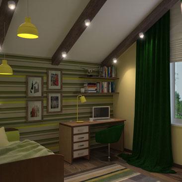 Дизайн и интерьер детской комнаты.