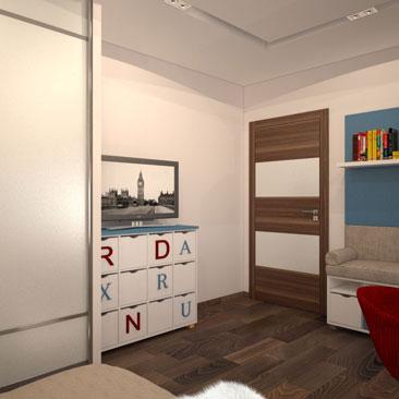 Дизайн интерьера детской комнаты - фото квартир и коттеджей.