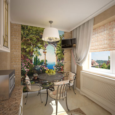 Дизайн интерьера кухни - фото квартир и коттеджей.