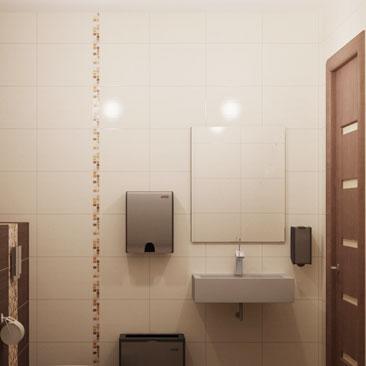 Идеи для дизайна ванных, туалетных комнат и санузлов.