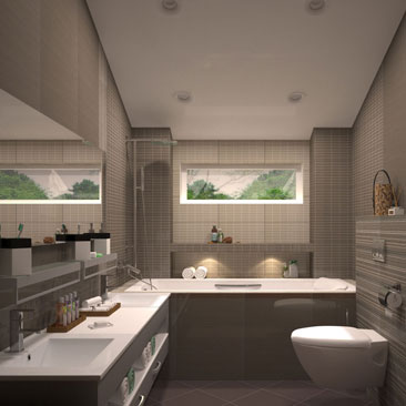 Дизайн и интерьер ванной комнаты - 1000 лучших идей для Вашего интерьера.
