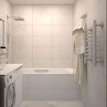 Дизайн и интерьер ванной комнаты.