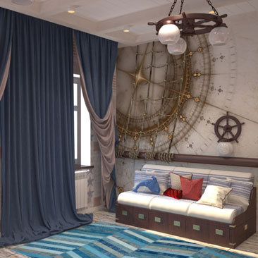 Дизайн интерьера загородного дома в Санкт-Петербурге по доступным ценам заказать...
