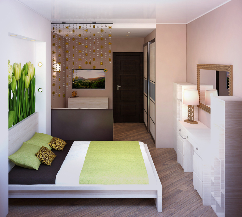 Статья 3. гостиная и спальня в одной комнате. статьи о дизай.