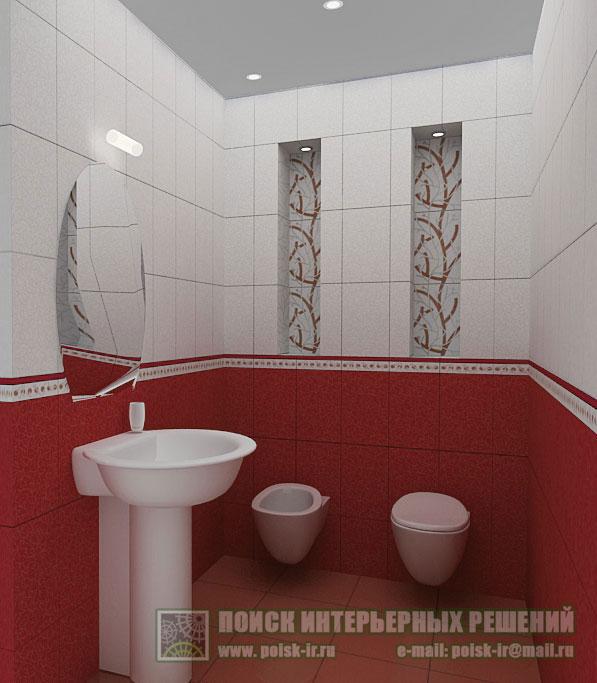 Интерьер ванной керама марацци
