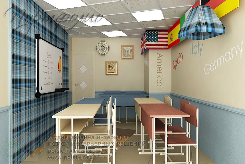 Дизайн кабинета английского языка фото
