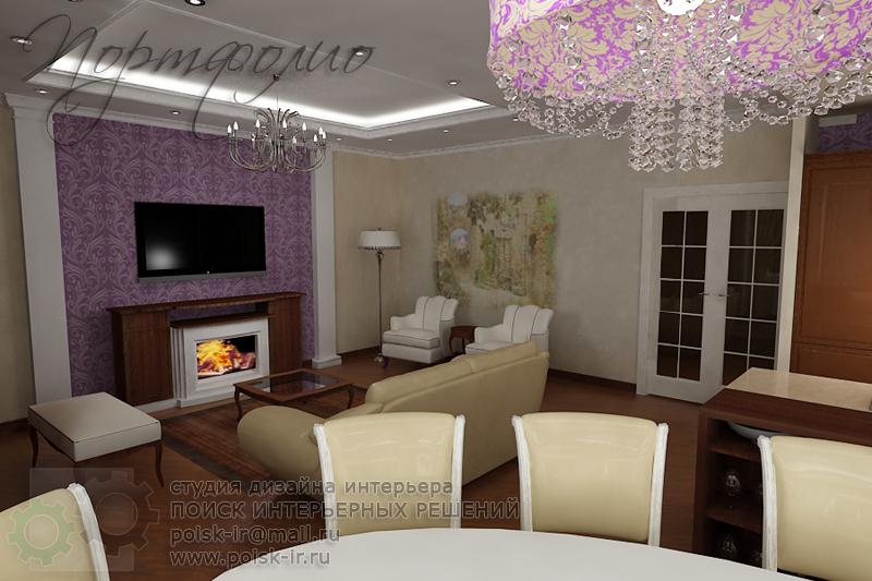 Дизайн интерьера гостиных комнат в