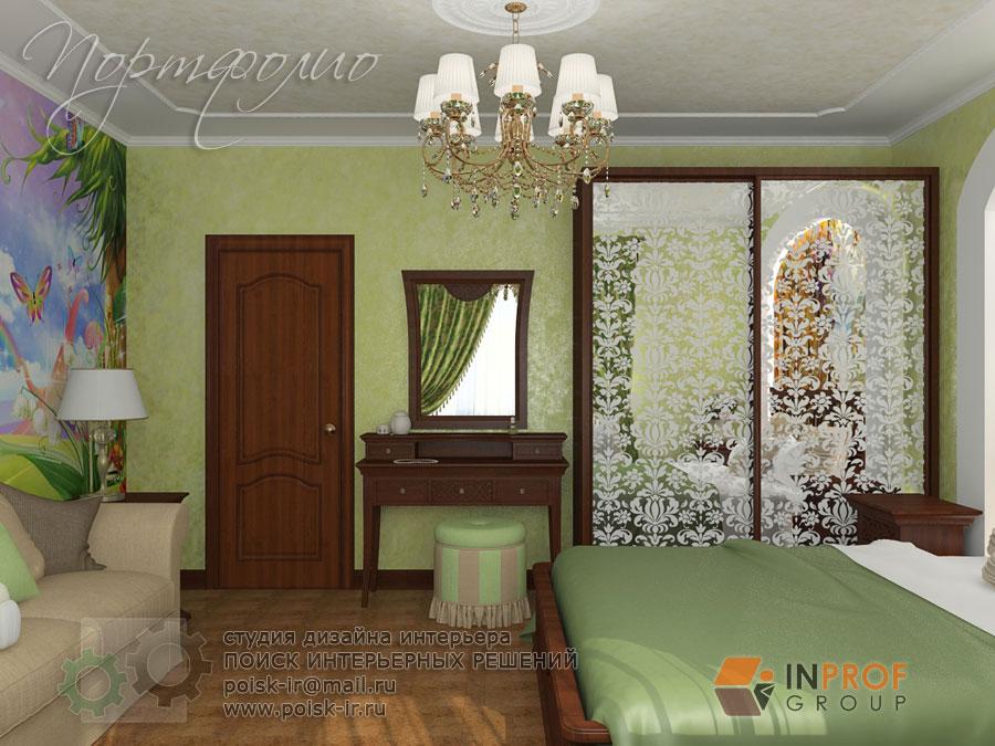 Интерьер спальня и детская в одной комнате