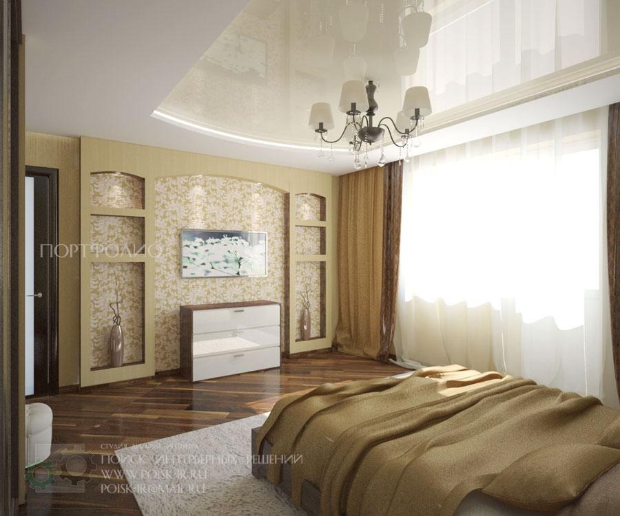 Гостиная и спальня в одной комнате 120 Интерьеров 2017